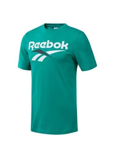 Reebok Cl V Yeşıl Erkek T-Shırt Yeşil